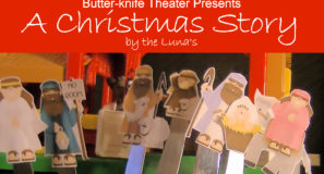 Butter-knife Theater Presents 'A Christmas Story' – Family Vlog 110