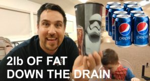 2lb OF FAT DOWN THE DRAIN – WEIGHT-LOSS VLOG 2